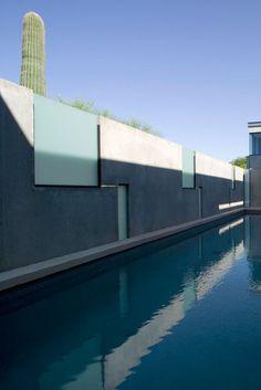Planar House, Arizona, USA by Steven Holl Architects