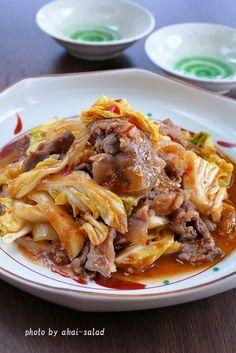 ジュ~っと味噌ダレ!豚とキャベツの辛味噌炒め by 長岡美津恵akai-salad 「写真がきれい」×「つくりやすい」×「美味しい」お料理と出会えるレシピサイト「Nadia   ナディア」プロの料理を無料で検索。実用的な節約簡単レシピからおもてなしレシピまで。有名レシピブロガーの料理動画も満載!お気に入りのレシピが保存できるSNS。