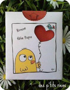 Made with love pour maman on pinterest coeur d 39 alene - Carte fete des peres a imprimer ...