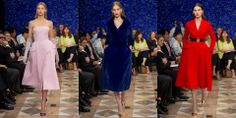 Dior - Haute Couture Fall/Winter 2012 nipped in waists