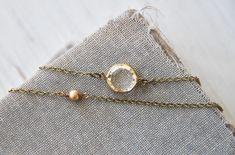 Modern bohemian layering necklaceshort by tiedupmemories on Etsy