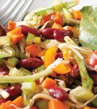 healthy bean and veggie recipe
