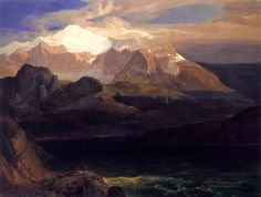 Carl Anton Joseph Rottmann 11 January 1797 Handschuhsheim 7 July 1850 Munich was a German landscape painter and the most famous member of the Rottmann f Mountain Art, Mountain Landscape, Landscape Art, A4 Poster, Poster Prints, Anton, Romanticism Paintings, Art Periods, Mountain Pictures