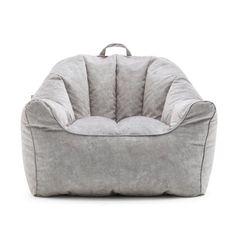 Comfort Research Big Joe Hug Bean Bag Chair Upholstery: Caribou Bean Bag Lounger, Bean Bag Sofa, Bean Bag Chairs, Herman Miller, Big Comfy Chair, Big Couch, Kids Bean Bags, Cool Bean Bags, Chair Upholstery