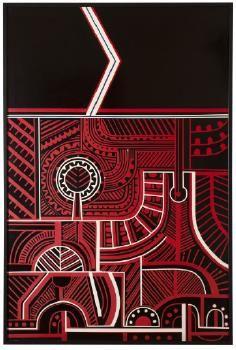 Para Matchitt's Untitled paintings of the late are a conceptual narrative relating to the life of Te Kooti Arikirangi Te Turuki of Rongowhakaata, a l. Auckland Art Gallery, Life Map, Google Art Project, Maori Designs, New Zealand Art, Jr Art, Maori Art, Kiwiana, Indigenous Art