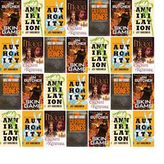 """Wednesday, June 18, 2014: The Brookfield Library has three new bestsellers and two other new books in the Science Fiction & Fantasy section.   The new titles this week include """"Skin Game: A Novel of the Dresden Files,"""" """"Annihilation: A Novel,"""" and """"Authority: A Novel."""""""