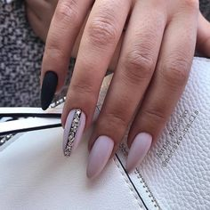 New Nails Shellac Design Girls 70 Ideas Gorgeous Nails, Love Nails, How To Do Nails, Pretty Nails, My Nails, Matte Nails, Stiletto Nails, Pink Nails, Matte Almond Nails