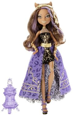 Monster High 13 Wishes Haunt the Casbah Clawdeen Wolf Doll: Toys & Games
