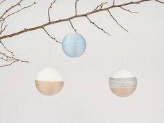 Un tutoriel simple pour créer ses propres boules de Noël !