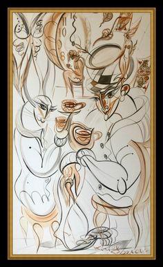 #art #artist #artistsoninstagram #kirillpostovit #katiefeygieart #katiefeygieartgallery #prague #buyart #buyartonline #artjournal #exclusive #modern #contemporaryart #contemporary #unique #paintingofprague #artprague #czechrepublic #artluxedesigns #kirillpostovit #aliceinwonderland #alice