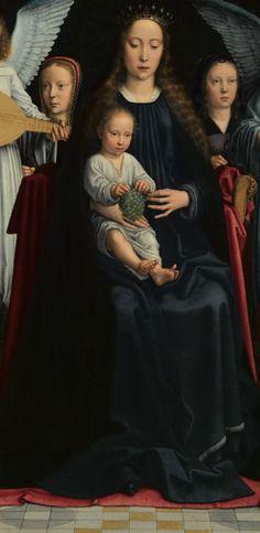 Gérard David:  Virgin and Child  (ca. 1509, MBA Rouen)