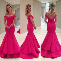 Beautiful Prom Dress, pink prom dresses mermaid prom dress satin prom dress off the shoulder prom dresses formal gown sexy evening gowns party dress mermaid prom gown for teens Meet Dresses Prom Dresses Long Pink, Prom Dresses 2017, Backless Prom Dresses, Prom Party Dresses, Party Gowns, Cheap Prom Dresses, Occasion Dresses, Dress Long, Formal Dresses