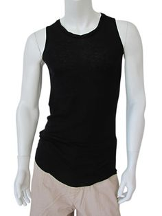 Long Undershirt  in cotton, rounded bottom, round wide neckline, border roulé, twister. Look for the evil Jason Statham, English actor EUR 64.00