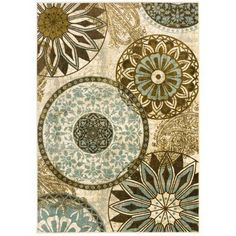 Mohawk Home New Wave Inspired India Printed Area Rug & Reviews | Wayfair