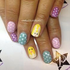 badluckbarbie easter #nail #nails #nailart