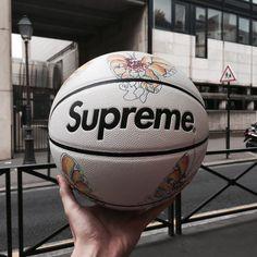 Supreme x Spalding Basket Style, Supreme Clothing, Supreme Wallpaper, Room Decor, Football, Instagram Posts, Disney Instagram, Basketball Diaries, Basketball Stuff