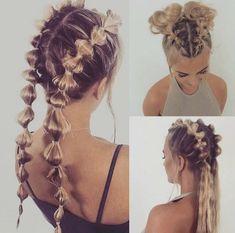 fun festival hair