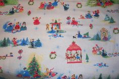 Custom Made Cloth DiaperXmas Magic by Los by loschiquitos on Etsy, $9.25