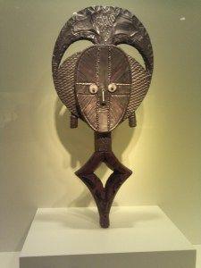 Gabon- Guardian Figure Mask