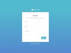 LocomotiveCMS register page