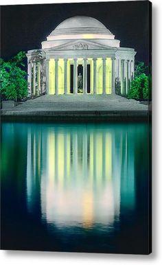 [Construction begins in '39 when FDR lays the cornerstone] Thomas Jefferson Memorial Washington D.C.