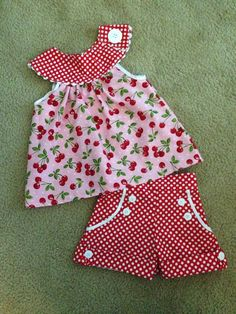 Brownie Goose Blondie and Summer Sailor shorts