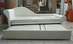 Doppio letto in versione chaise longue... riposati con stile!!!