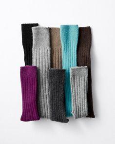 Women's Cashmere Socks - Cashmere Ankle Socks or Knee-Highs - Garnet Hill Cashmere Socks, Ankle Socks, Women's Socks, Winter Wear, What To Wear, Pure Products, My Favorite Things, Knee Highs, Sweet Stuff