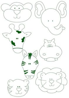 7 Felt Animal Templates Images - Felt Animal Patterns, Felt Animal Patterns Templates and Felt Animals Patterns Free Templates Animal Templates, Applique Templates, Applique Patterns, Applique Designs, Felt Animal Patterns, Stuffed Animal Patterns, Felt Books, Felt Ornaments, Felt Art