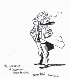 MIS DIBUJOS DE DIBUJANTES DE COMIC: John Constantine de Tomeu Segui