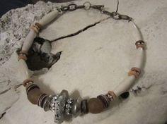 Handmade Western Jewelry Boho Jewelry Agate Brown by edanebeadwork, $39.00