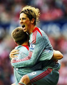 Fernando Torres and Steven Gerrard, instrumental in the Manchester United 1-4 Liverpool game...
