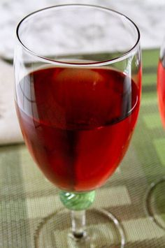 "Kir | ""This is a French drink that can be mixed to taste. Use Champagne with the same amount of creme de cassis, and it is a Kir Royale."" #drinks #drinksrecipes #drinkrecipes Punch Recipes, Drink Recipes, Black Currants, Non Alcoholic, Refreshing Drinks, Party Drinks, Cocktail Recipes, The Ordinary, White Wine"