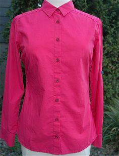 Patagonia Women's L/S Indies Shirt Pink Sz 8 $59 - NWT #Patagonia #LongSleeveButtonUp