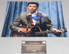 "Lou Diamond Phillips ""LA BAMBA"" autograph 8X10 PHOTO COA Memorabilia Lane & Promtions"