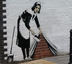 Banksy. Sweep it away...