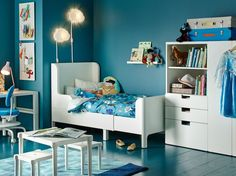 Best Trendy Kids Bedroom Decor That You Can Easily Make By boys bedroom decor - Bedroom Decoration Ikea Kids Bedroom, Boys Bedroom Decor, Bedroom Ideas, Childs Bedroom, Kids Bed Design, Kids Bedroom Designs, Bed Designs, Concrete Bedroom, Bedroom Flooring