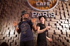 Angel et Morgane, Hard Rock Cafe Paris Rock Shop