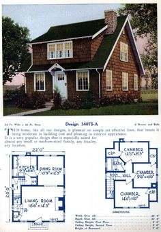 Basic Colonial House Plans Luxury 62 Beautiful Vintage Home Designs Floor Plans From the Craftsman Bungalow House Plans, Colonial House Plans, Southern House Plans, Modern House Plans, Small House Plans, The Plan, How To Plan, Style At Home, American Home Design