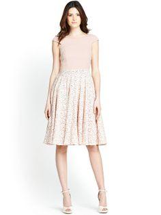 Definitions Bardot Prom Dress   very.co.uk