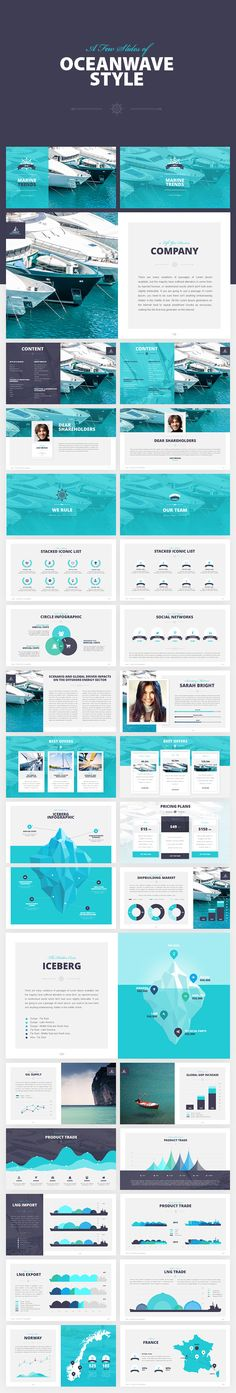Salor - PowerPoint Presentation Template on Behance