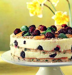 Για εσένα που αγαπάς την ζαχαροπλαστική! Στο νέο τεύχος AB Foodstories θα βρεις μια τούρτα που είναι και παγωτό, έχει μπισκότο, λεμόνι, καρύδα και δυόσμο! Pin  αν την λιγουρεύτηκες!