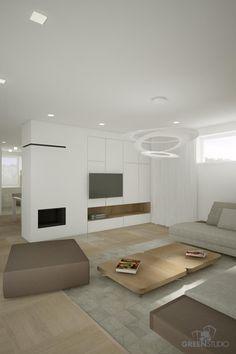 Interiér rodinného domu v Dúbravke - obývačka