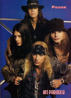 80's Hard Rock & Metal 80s Hair Metal, Hair Metal Bands, 80s Hair Bands, Glam Metal, Bret Michaels Poison, Bret Michaels Band, Hard Rock, Poison Albums, Poison Rock Band