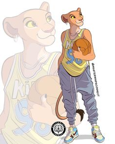This talented artist and Disney fan transformed The Lion King animals into humanlike characters, and the results are amazing. Art Roi Lion, Le Roi Lion 2, Lion Art, Kiara Lion King, Kiara And Kovu, Simba And Nala, Disney Characters As Humans, The Lion King Characters, Disney Dream