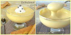 Lo Zabaione, ricetta base è una delle creme classiche della pasticceria. E' una crema spumosa fatta con solo tuorli e zucchero che vengono montati a lungo.