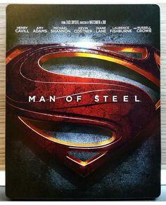 "Steelbook Bluray ""Man of Steel"""
