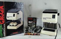 Retro GAGGIA ESPRESSO Cappuccino Machine PUMP DRIVEN Turbo Frother MADE IN ITALY