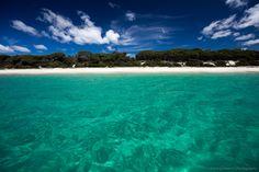 Iluka Beach - not a soul in sight http://www.jonharris.photography/blog/2015/3/a-day-on-jervis-bay