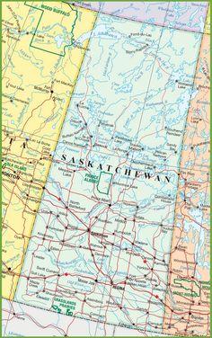 And After Winningpeg Saskatchewan Saskatchewan Pinterest - Map of southern saskatchewan canada